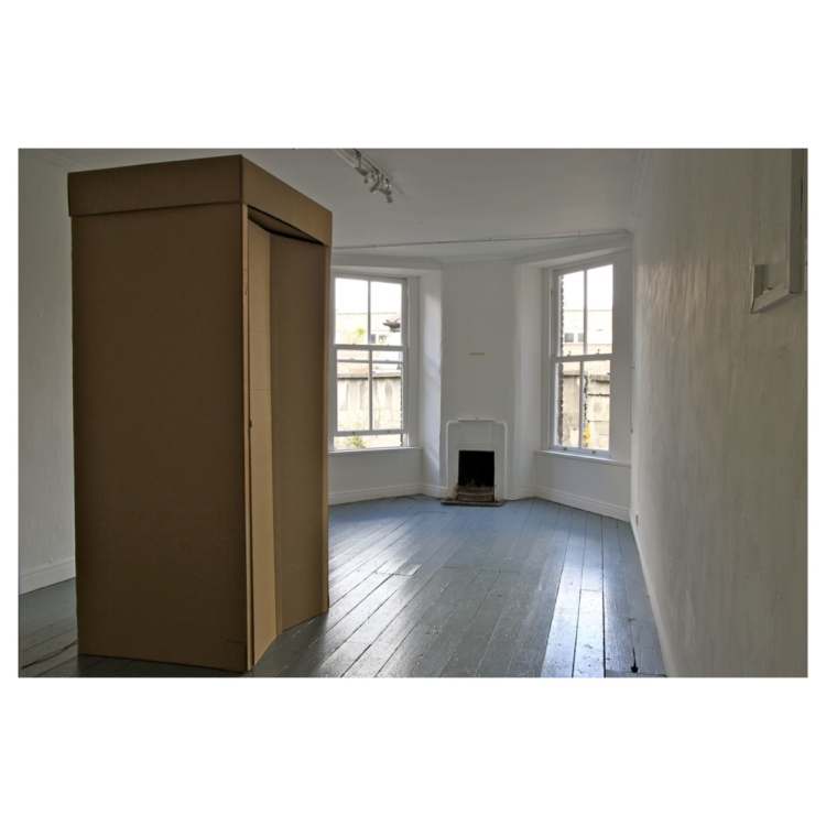 Shelter - door closed 2012