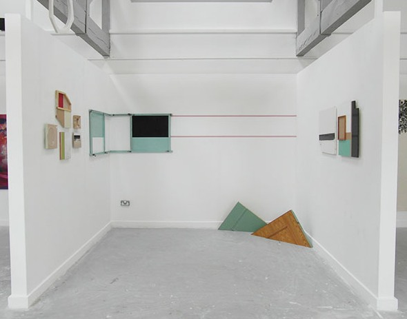 Graduate Show, Installation view II, 2014
