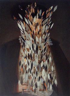 Eoin O'Dowd - Paper Collage - James VI & I after John de Critz